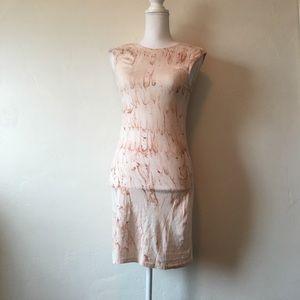 NWT young fabulous and broke streak wash dress